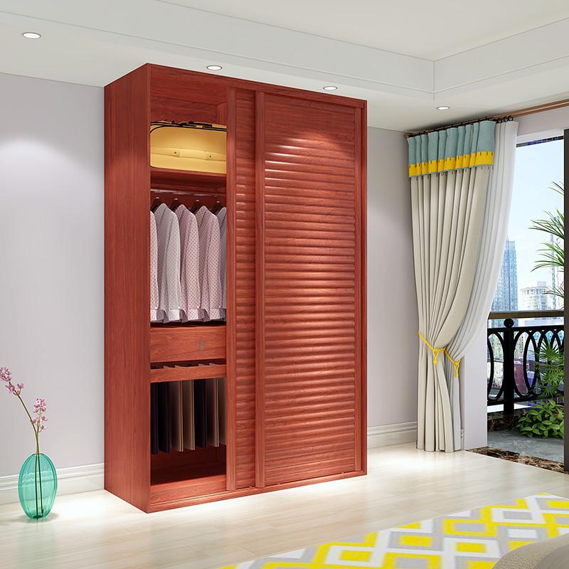 千住明芬格美家整体移门衣柜推拉门衣柜 卧室家具板式