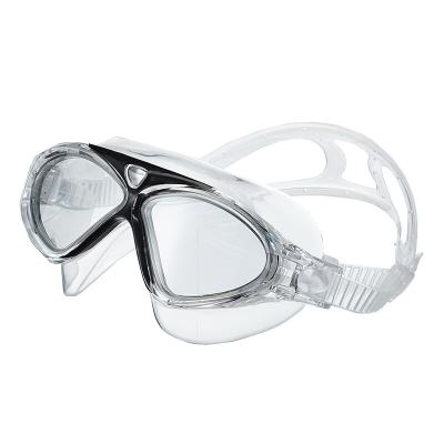 川崎(kawasaki)儿童舒适泳镜平光泳镜pc材质0度柔软防雾青少年游泳眼镜
