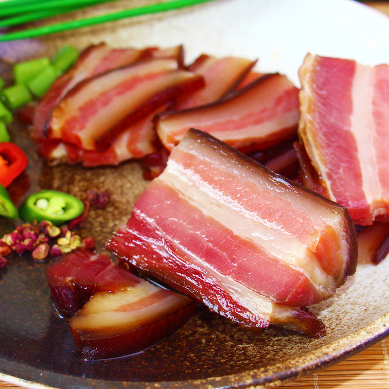 250g/袋 土猪腊后腿肉 袋装 正宗新鲜咸腊肉 生鲜肉类 加工类肉食