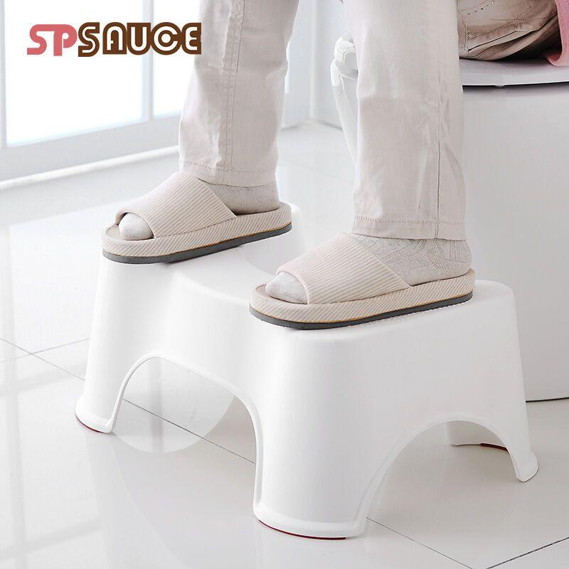日本马桶凳垫脚凳蹲凳蹲坑神器加厚塑料坐便凳