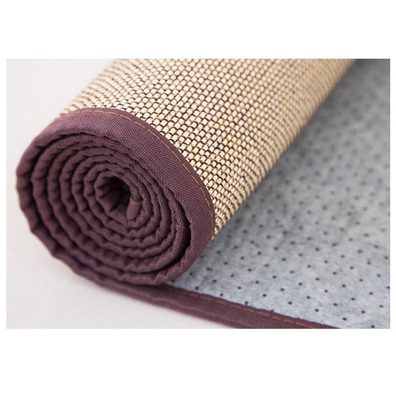 日式天然竹编织客厅卧室地毯地毯瑜伽凉席地毯飘窗榻榻米地垫