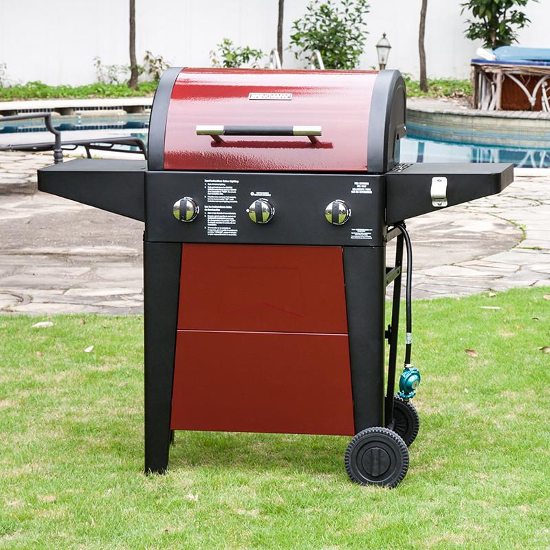 樂派爾戶外燃氣燒烤爐 別墅庭院家用室外燒烤架烤肉爐