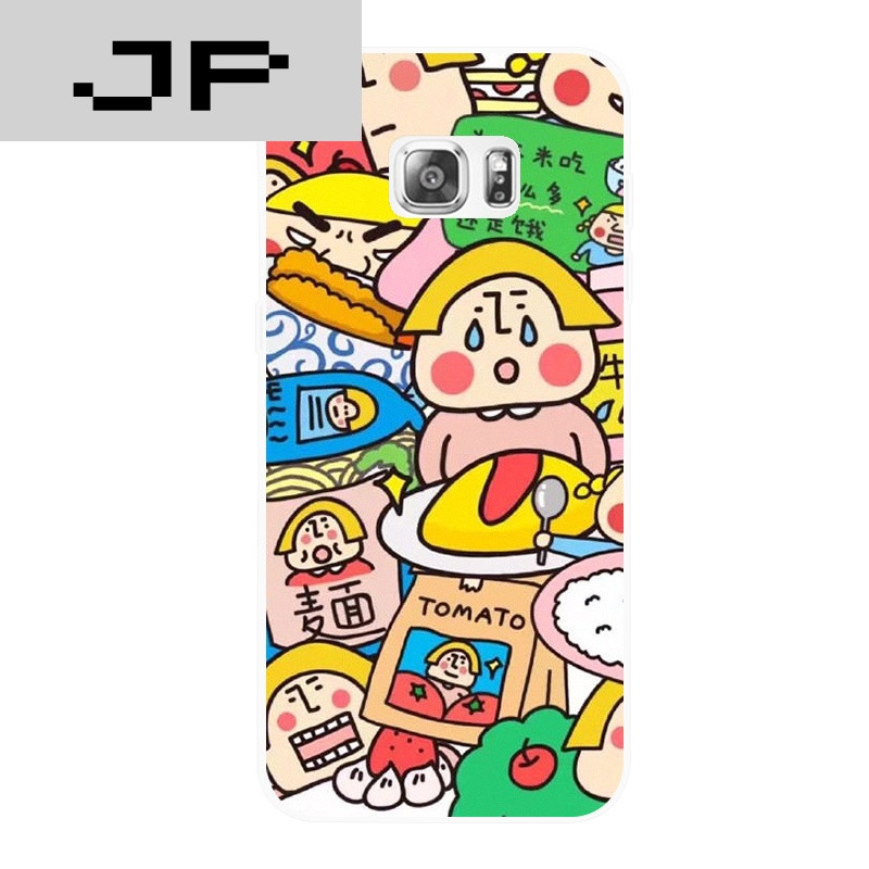 jp潮流品牌日系动画可爱卡通吃货 三星note345 c57 s7