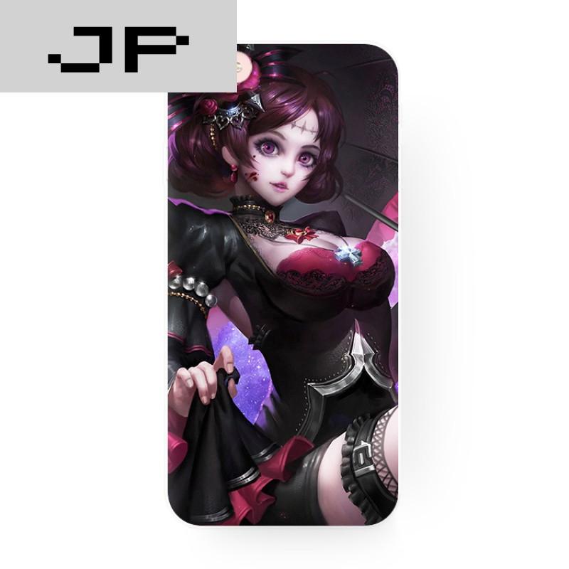 jp潮流品牌露娜-哥特玫瑰 王者荣耀游戏角色 苹果i6s