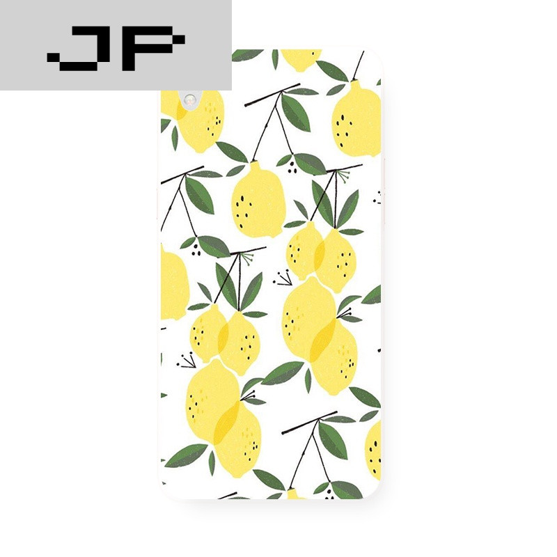 jp潮流品牌简约柠檬夏日小清新oppo r9 r7s r7plus原创意手机壳tpu软