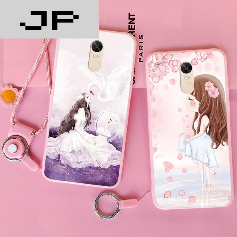 jp潮流品牌小米红米note4x手机壳硅胶保护套卡通可爱女款磨砂全包边
