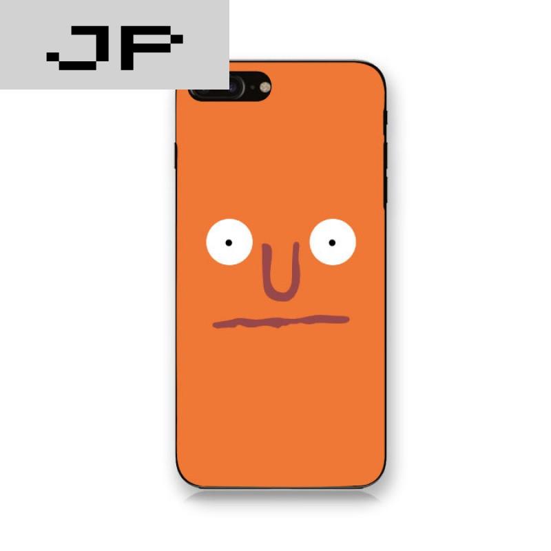 jp潮流品牌韩国ins同款iphone7手机壳6s刘亚仁设计款笑哭脸全包软6plu