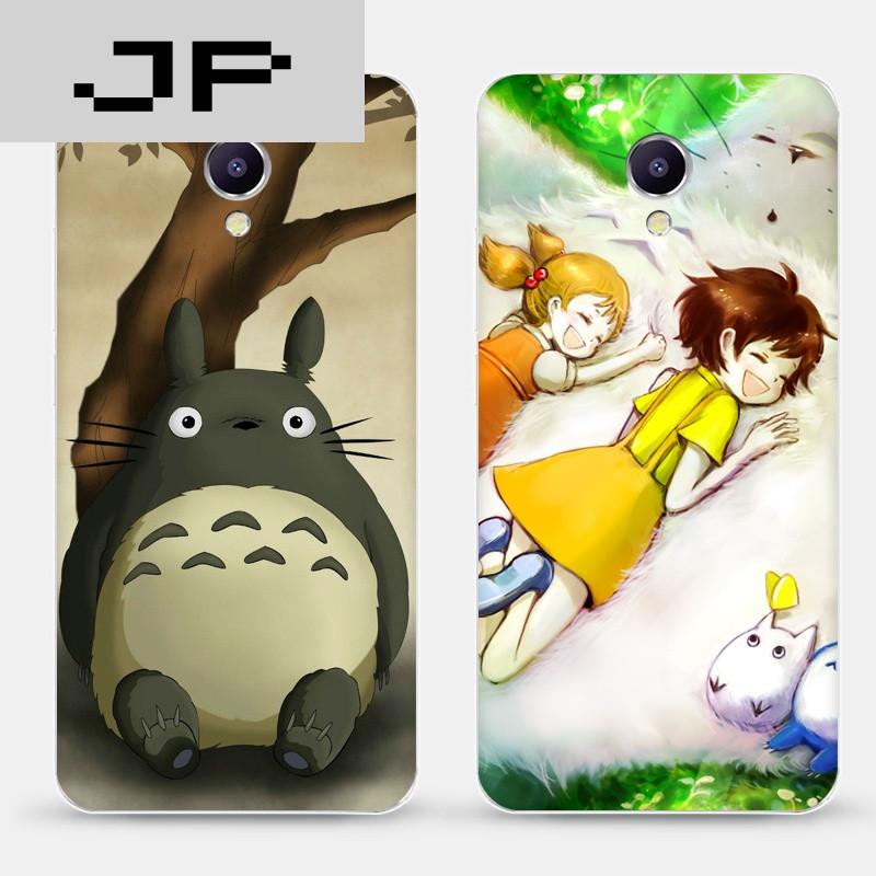 jp潮流品牌魅蓝3/5/3s/5s手机软壳保护套日本动漫宫崎骏可爱萌龙猫
