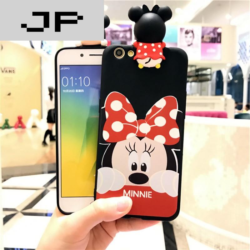 jp潮流品牌情侣米奇米妮vivox7手机壳x7plus可爱卡通软胶保护套外壳带