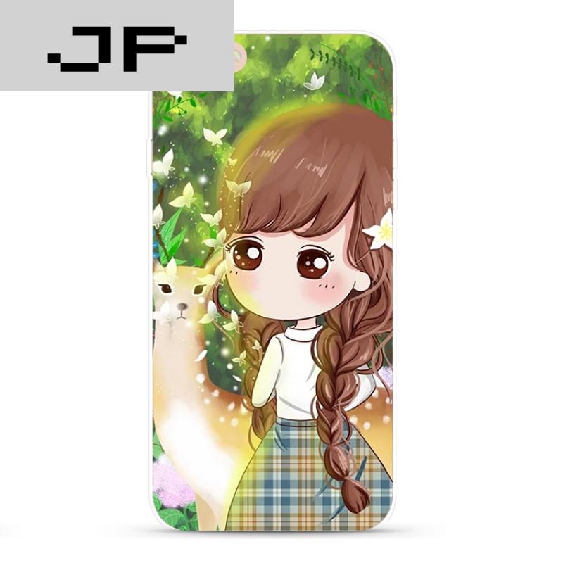 jp潮流品牌森系可爱卡通女孩小希苹果iphone7 6s plus图片