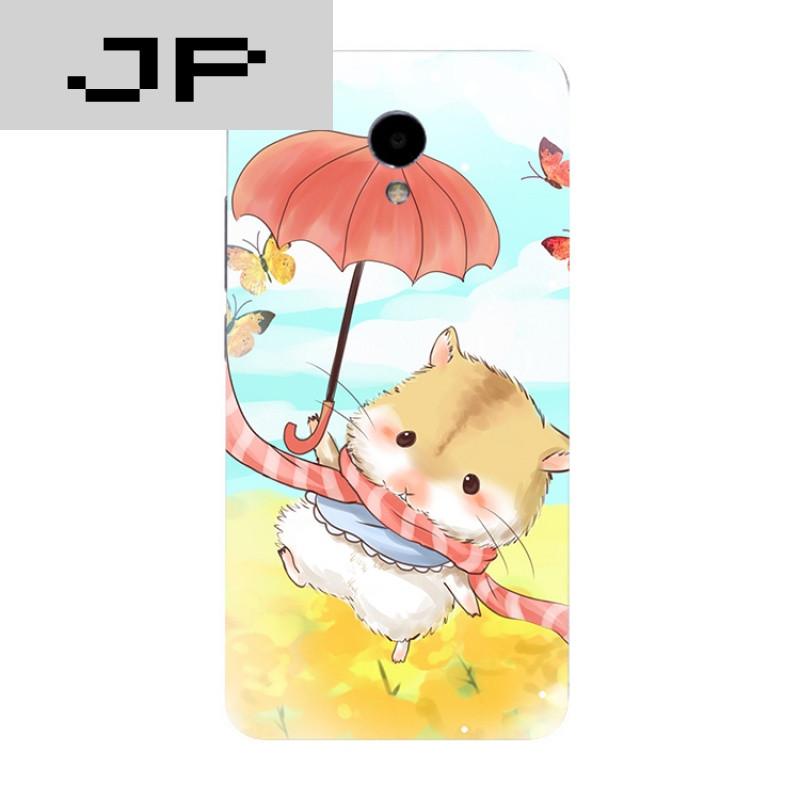 jp潮流品牌日韩卡通魅族魅蓝3s note5 3 2 metal手机壳可爱手绘萌宠
