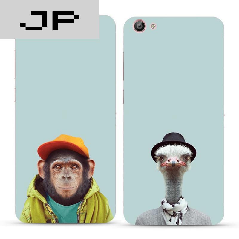 jp潮流品牌个性创意简约搞怪动物oppo r9 r9sm r9plus手机壳硅胶软壳