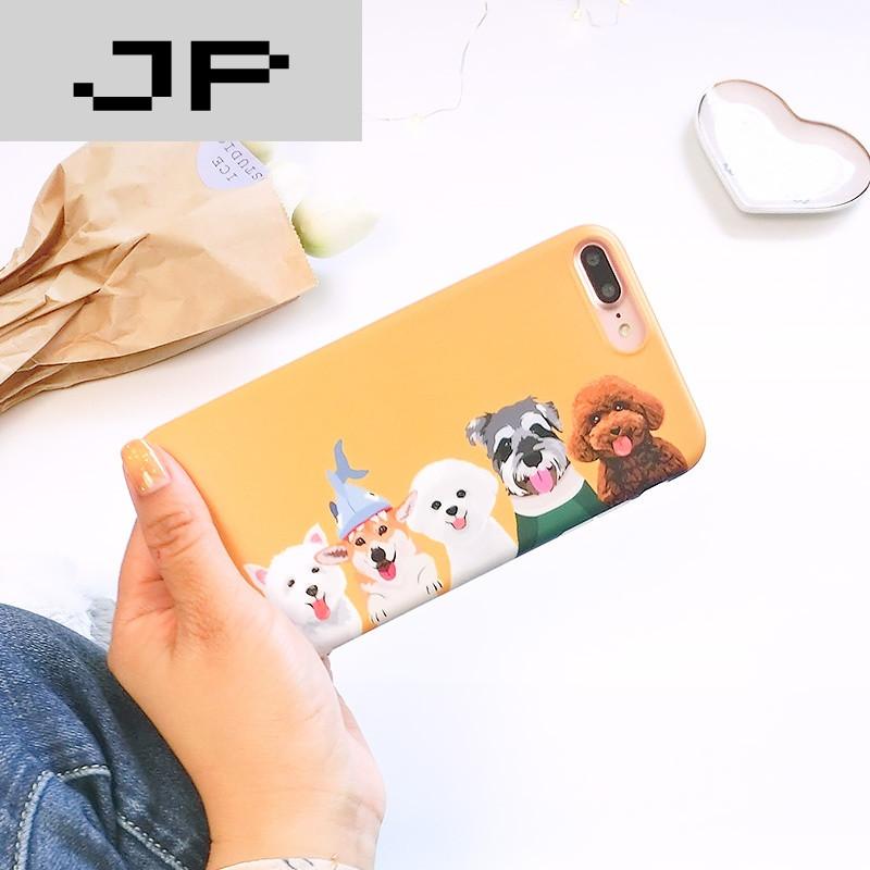 jp潮流品牌[大梨]宠物狗狗苹果7手机壳iphone6plus软壳6s硅胶全包软壳