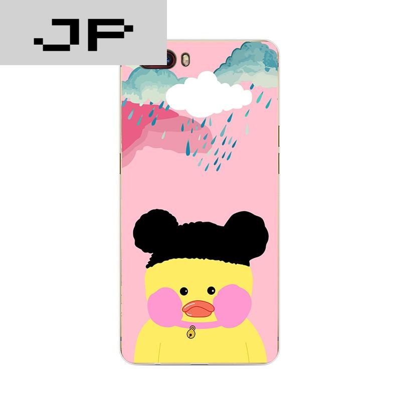 品牌努比亚m2青春版手机壳z17/mini软硅胶保护套cafemimi玻尿酸鸭个性