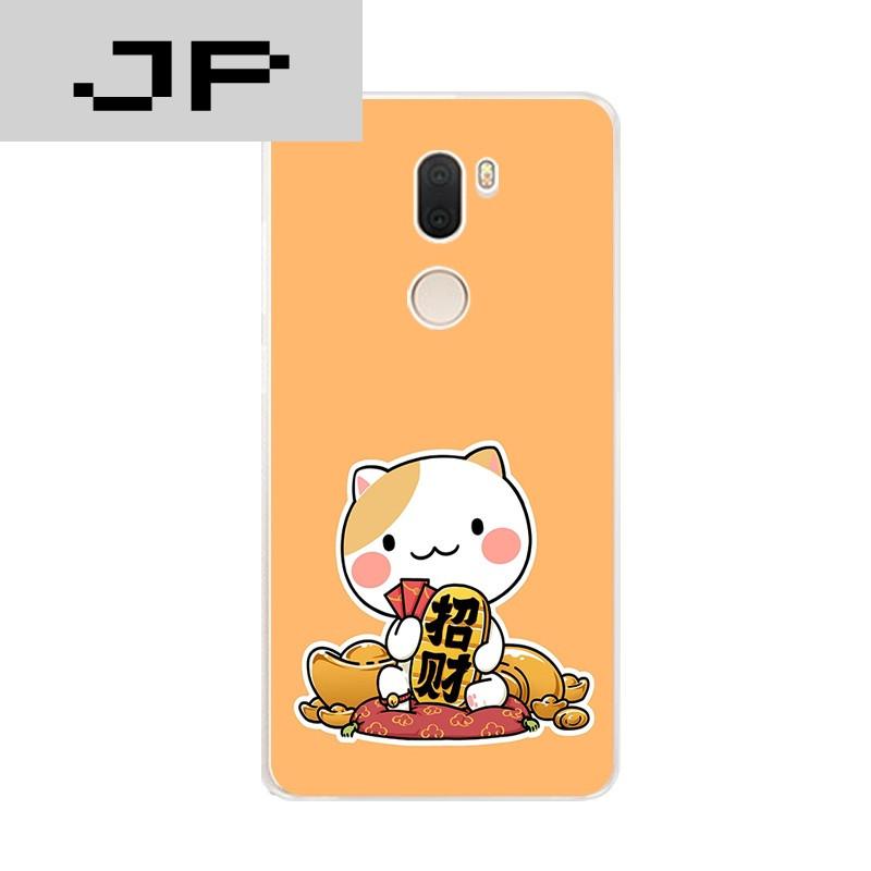 jp潮流品牌小米note2/5s手机壳mi5splus超薄软壳可爱个性招财猫猫卡通