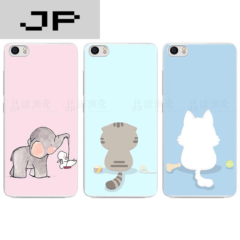 jp潮流品牌mi小米note/5手机壳max超薄软壳红米note4x有创意简约可爱