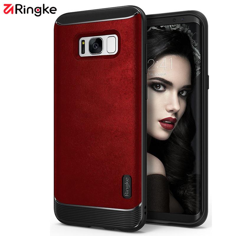 RingKe原装三星S8手机壳s8plus防摔保护套硅