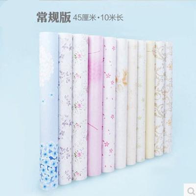 (45厘米*10米)自粘墻紙壁紙 10米PVC墻紙臥室翻新加厚墻貼家居家裝建材主材墻紙墻貼辦公室室內墻面紙