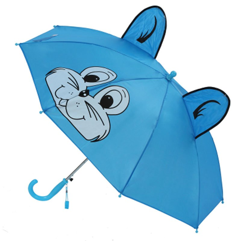 伞创意公主伞幼儿园3d立体卡通儿童不锈钢伞杆伞生活日用晴雨用具伞