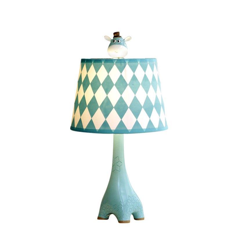 长颈鹿儿童台灯卧室床头灯卡通创意简约现代温馨调光暖光可爱礼物多