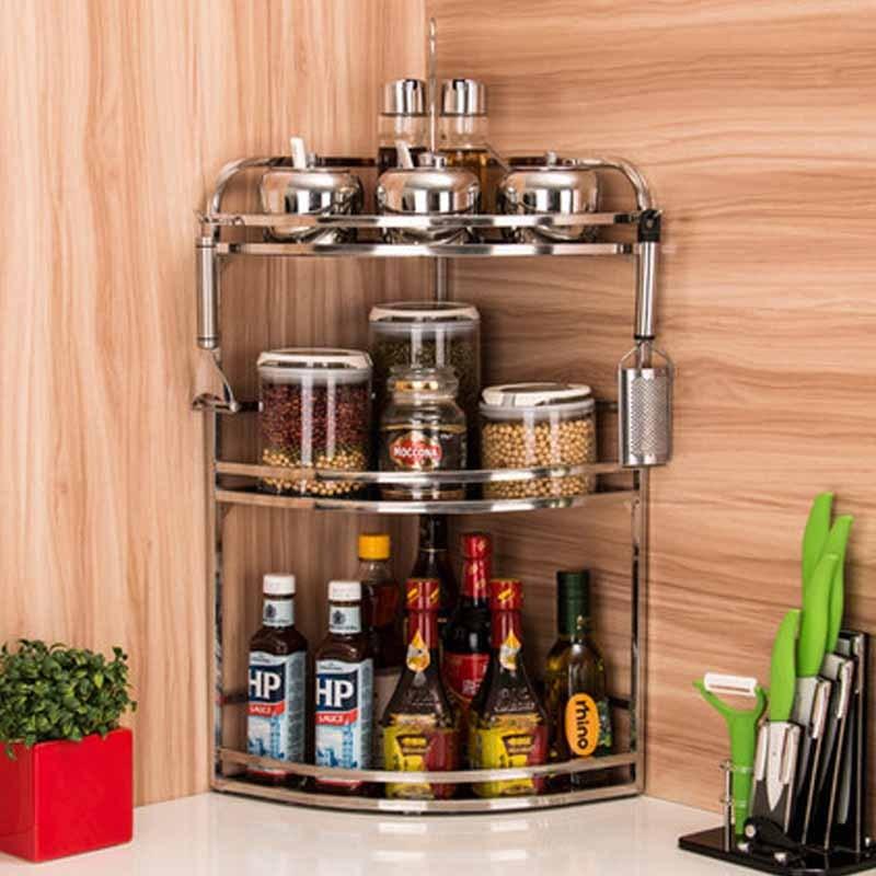 架厨具用品收纳简约时尚家居家用生活日用多功能厨房收纳用品置物架图片