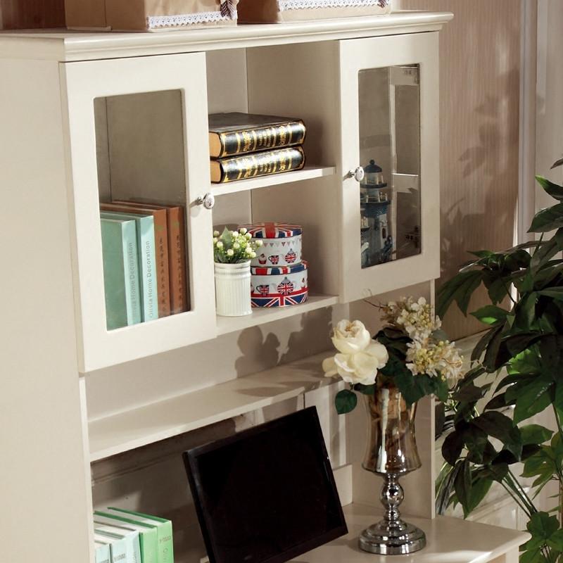 欧式书桌书架组合家用台式电脑桌写字桌卧室家具韩式办公桌写字台