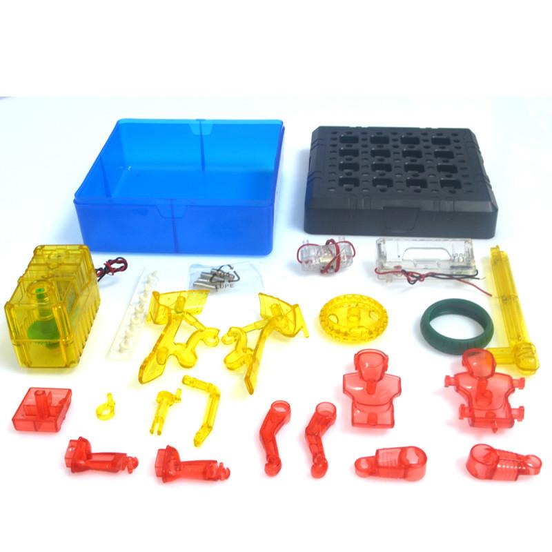 科技小制作小学生科普diy益智学习手工小发明材料拼装玩具单轮车实验