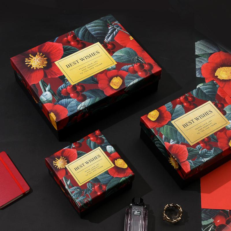 正方形大号礼品盒生日伴手礼盒礼物盒创意礼物包装盒
