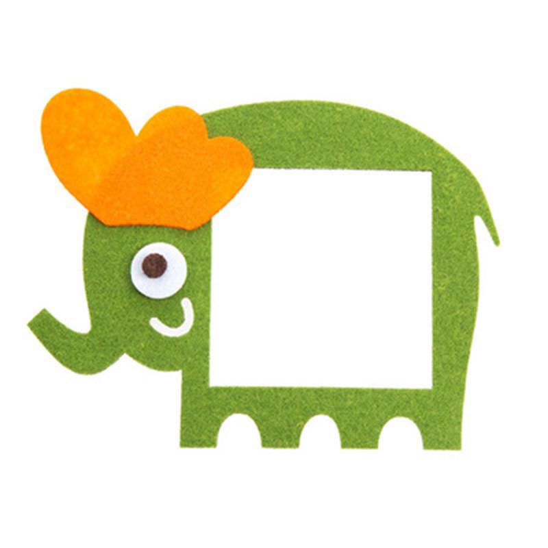 开关贴纸可爱欧式墙贴装饰卡通开关套墙壁插座装饰保护套-绿色大象