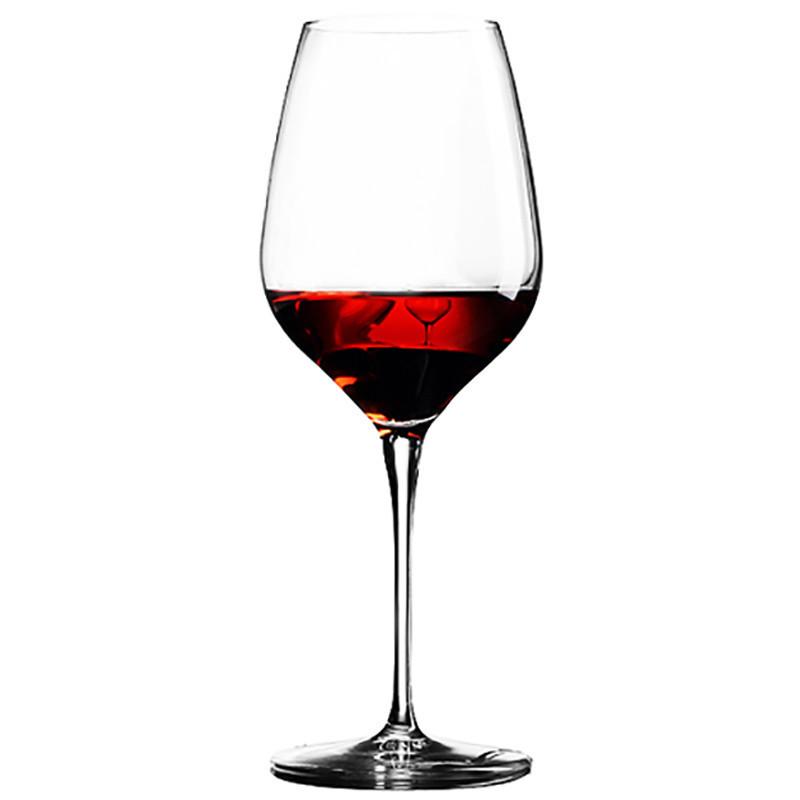 红酒杯玻璃酒杯家用酒具高脚杯葡萄酒香槟杯子-550ml单只波尔多红酒杯图片