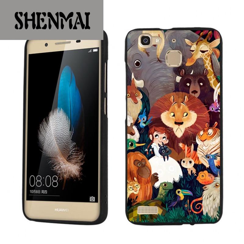 shm品牌动物森林华为畅享5s手机壳 时尚卡通动漫公主可爱硅胶手机套软