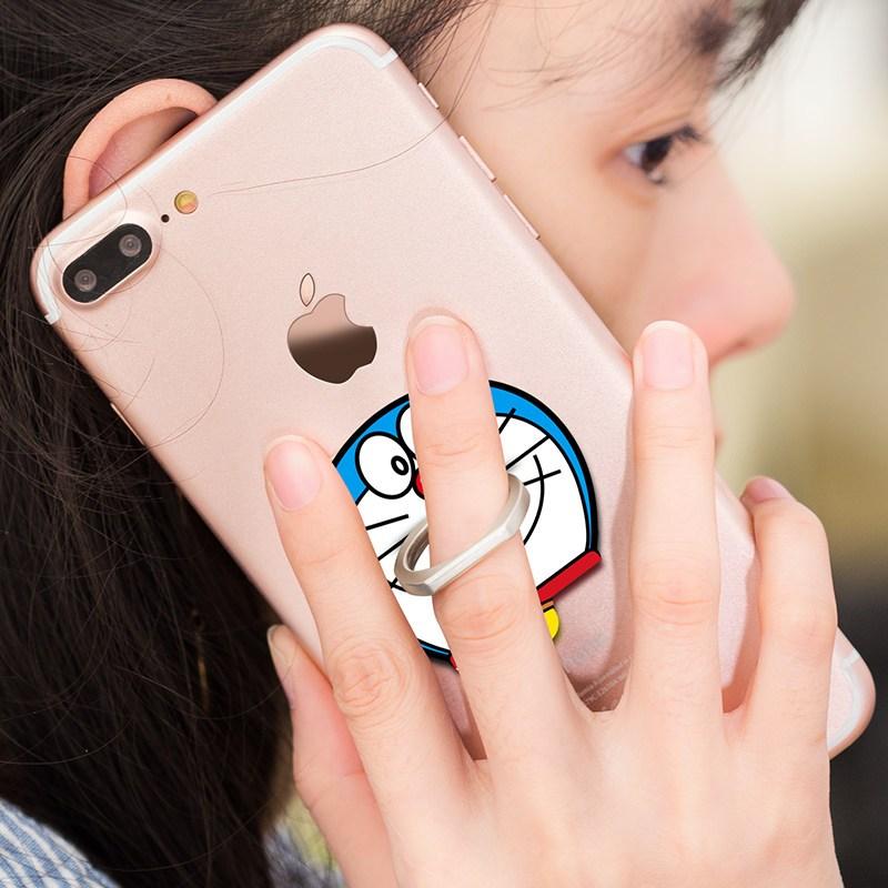 可爱手指扣环女创意个性卡扣式 苹果桌面手机平板通用懒人指环卡扣图片