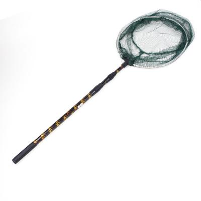 可折叠抄网捞鱼网兜钓鱼抄网超硬伸缩杆渔具用品抄网杆