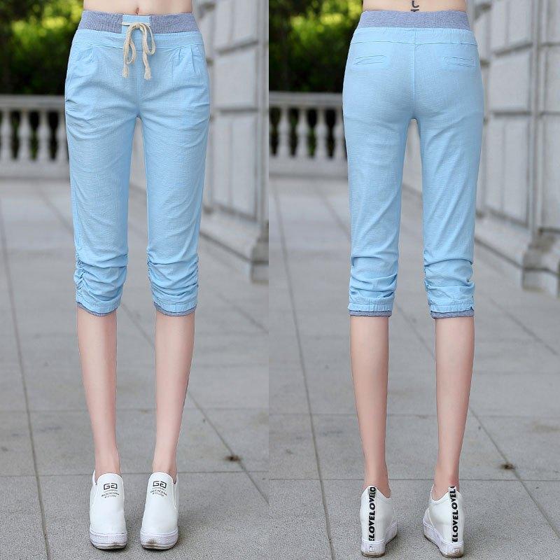 裤子夏季女裤