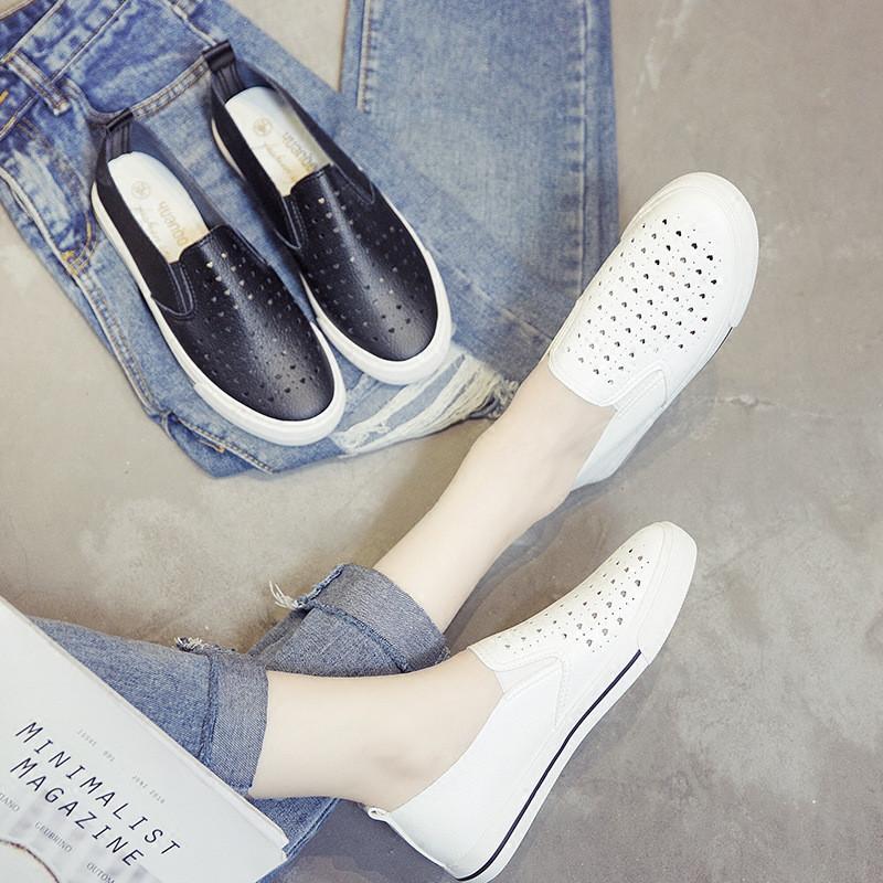 尖头鞋女冬平底