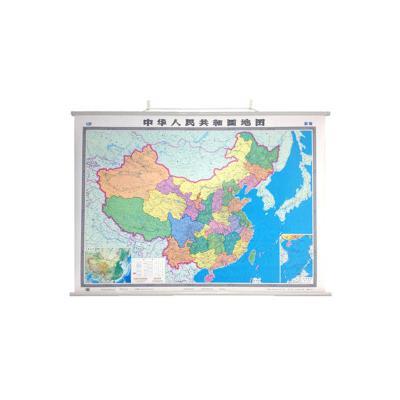 中國地圖掛圖(雙全開1.5米*1.1米  無拼縫專業掛圖)