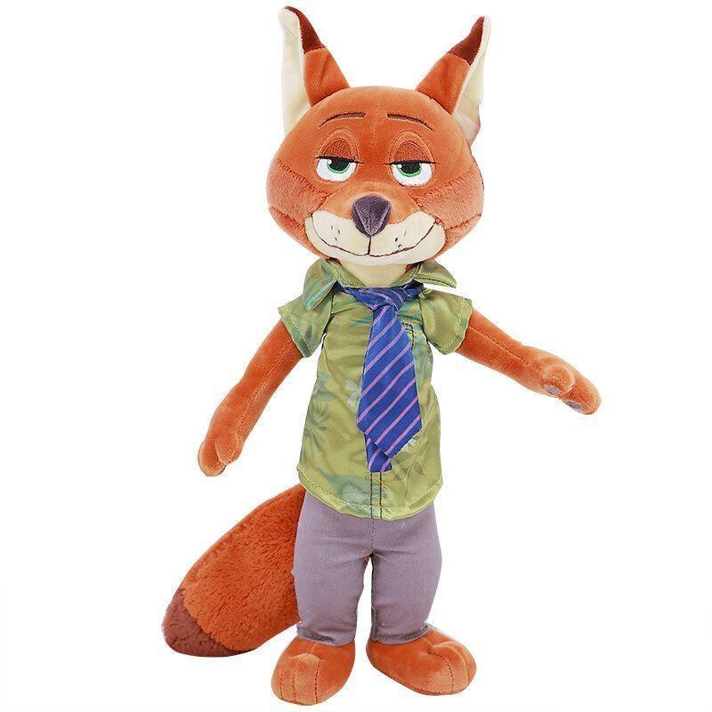 动物城正版迪士尼公仔类 兔子朱迪狐狸尼克女生闺蜜毛绒玩具布娃娃