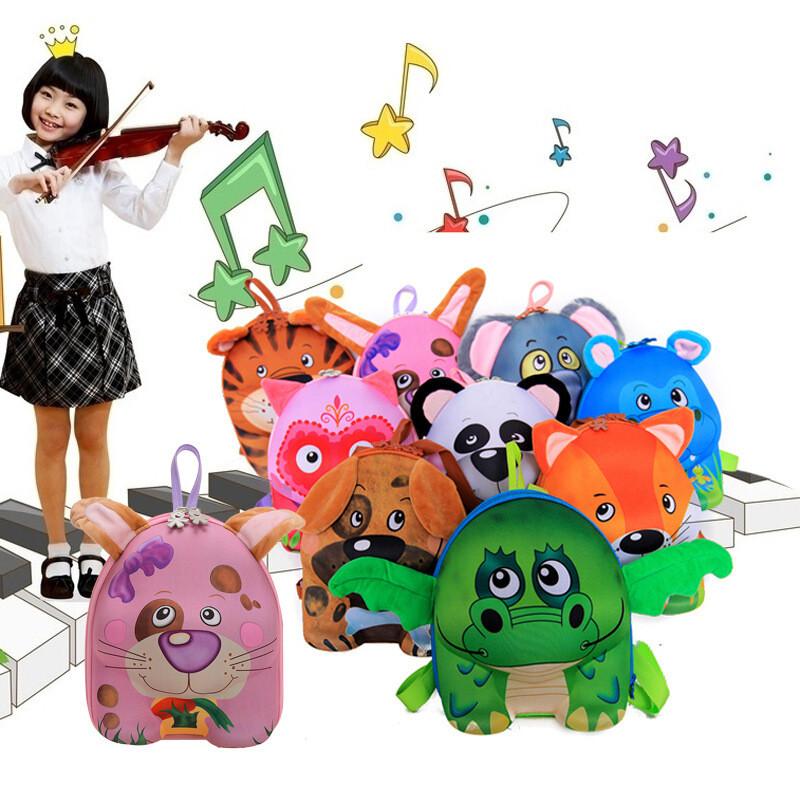 ctrlcity可爱卡通3d幼儿园宝宝儿童包小书包小班动物双肩背包