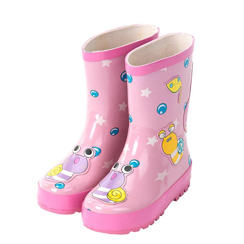 儿童雨鞋宝宝可爱水鞋雨靴