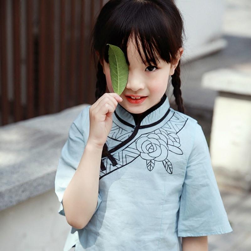 三岁宝宝汉服发型分享展示图片