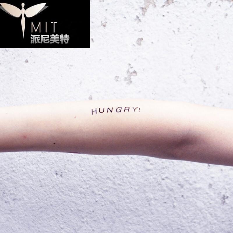 纹身图案大写英文分享展示