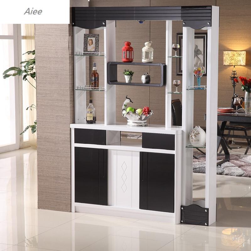 2米客厅玄关柜进门鞋柜双面隔断柜屏风酒柜装饰