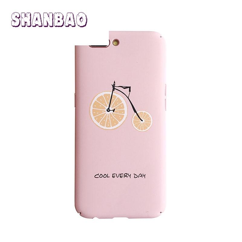 shanbaooppor11手机壳夏天可爱水果r9plus磨砂防摔oppor9s硬壳日韩女