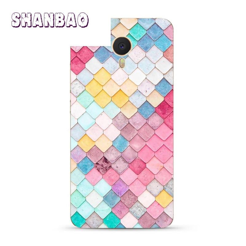 shanbao水彩颜料盒魅族魅蓝note5 3s metal手机壳创意