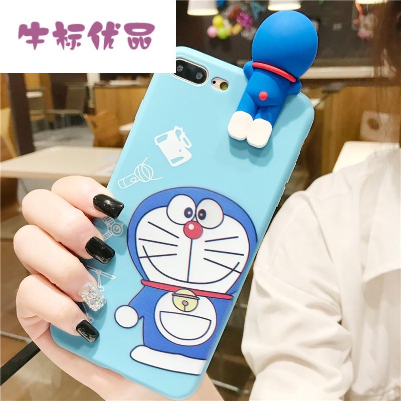 牛标优品韩国卡通vivo x6手机壳可爱萌x6plus机器猫防