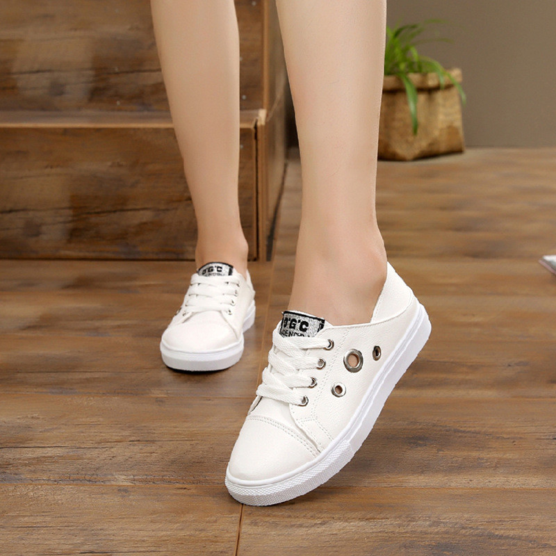 大童儿童鞋子春秋女童女孩子小学生透气休闲小白板鞋12-16岁白鞋