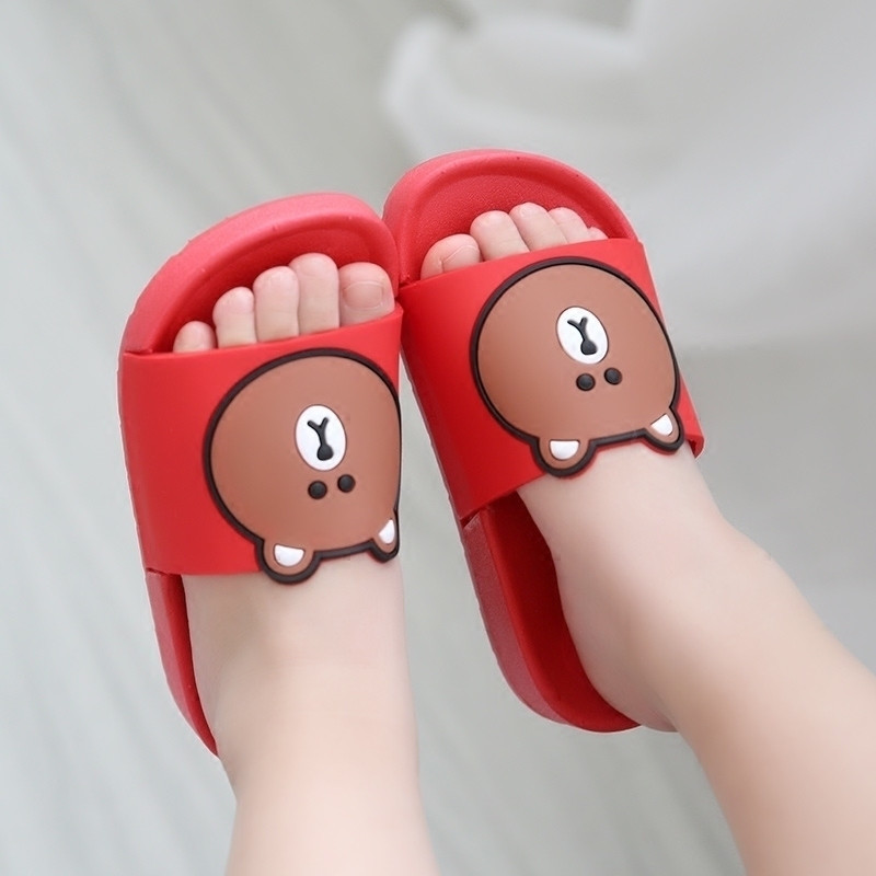 儿童拖鞋夏女男可爱小孩宝宝鞋子软男童女童凉拖鞋小公主小童夏季