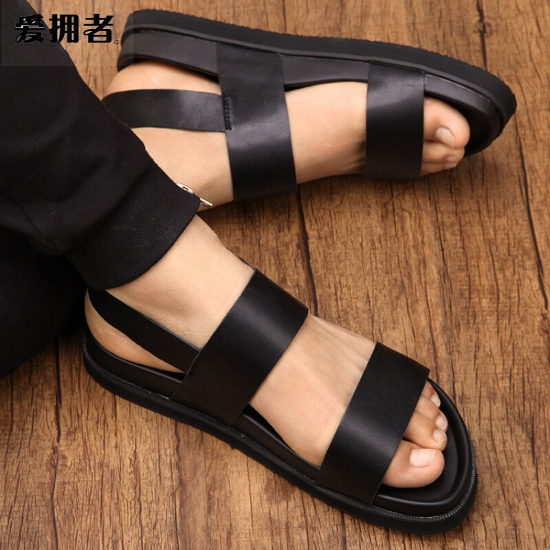 罗马凉鞋男