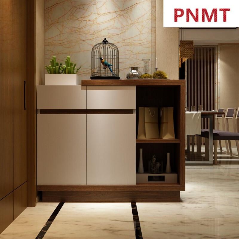 pnmt定制鞋柜简约现代门厅柜北欧风设计鞋柜玄关鞋柜定制柜鞋橱左白图片