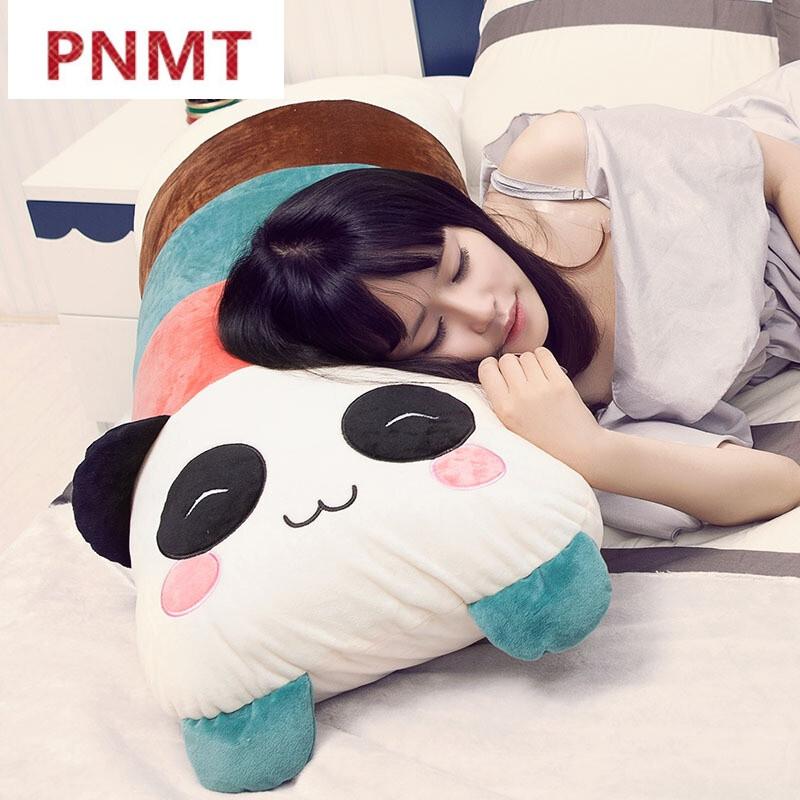 pnmt卡通小猪睡觉抱枕靠枕床头靠垫大靠背公主情侣双人枕头大号可拆洗